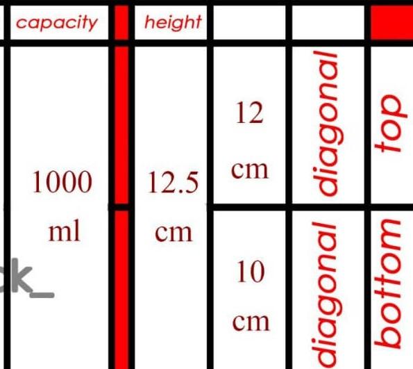سطل بسته بندی 1000 گرم